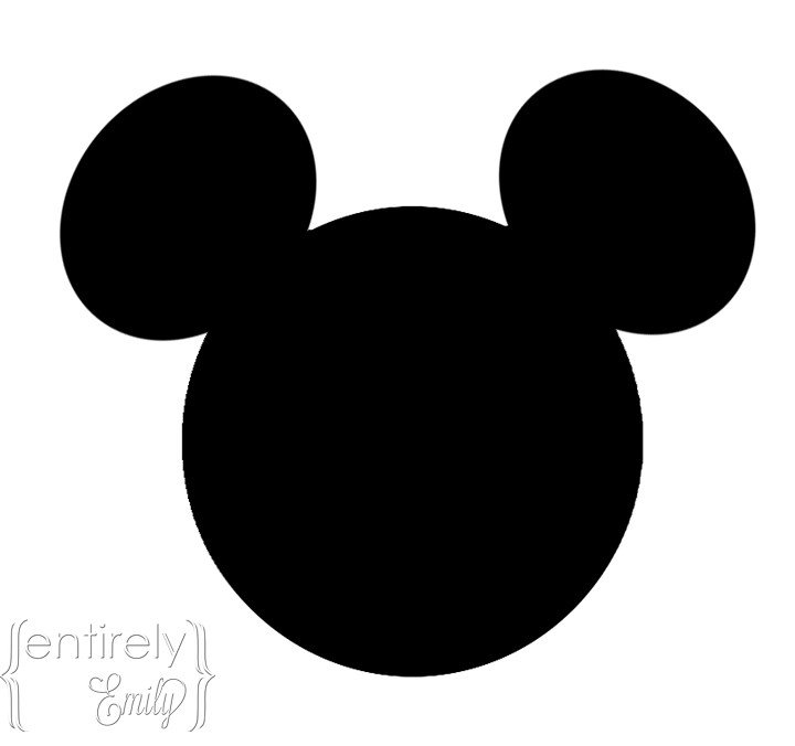 Mickey Mouse Face Template Mickey Mouse Head Template