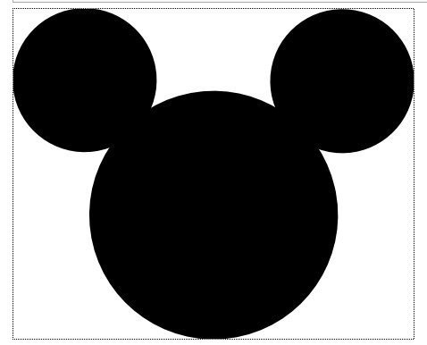 Mickey Mouse Face Template Minnie Mouse Clipart Clipart Suggest