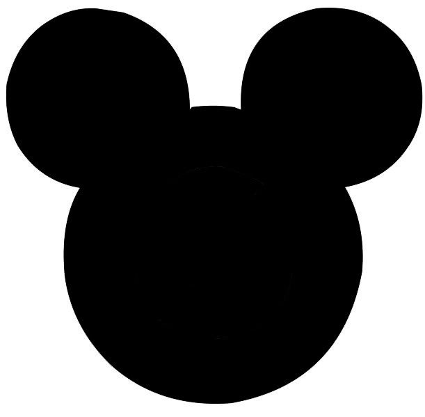 Mickey Mouse Face Template Printable Mickey Mouse Head Cliparts