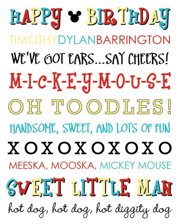 Mickey Mouse Font Free Diy Printable Mickey Mouse Subway Art by Laurenlou Ly On