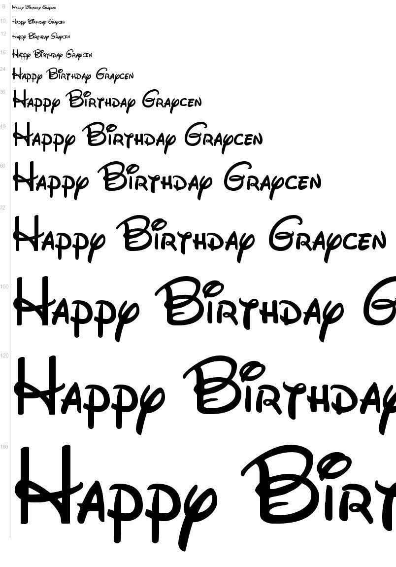 Mickey Mouse Font Free Free Fonts Walt Disney Font Urbanfonts