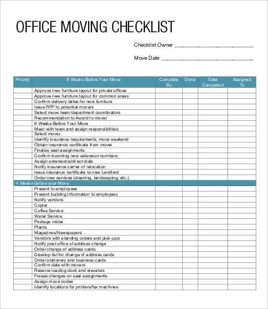 Microsoft Office Check Template 10 Moving Checklist Templates Word Pdf Apple Pages