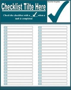 Microsoft Office Check Template Best 25 Checklist Template Ideas On Pinterest