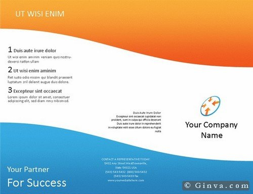 Microsoft Office Flyers Templates Download Free Microsoft Fice Brochure Templates