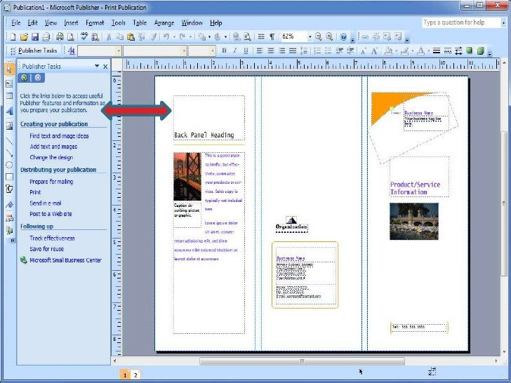 Microsoft Publisher Booklet Templates Publisher Booklet Template