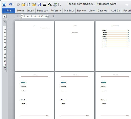 Microsoft Word Book Template Book Template Category Page 1 Dahkai