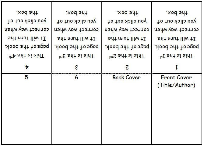 Microsoft Word Book Template Mini Book Template Microsoft Word Google Search