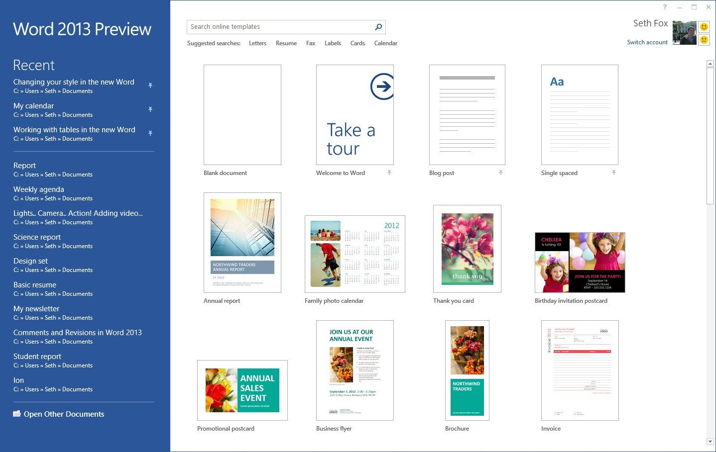Microsoft Word Design Templates Starting Off Right Templates and Built In Content In the