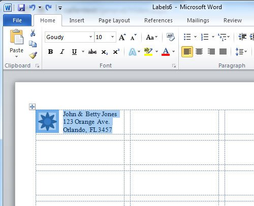 Microsoft Word Label Template How to Create A Microsoft Word Label Template Label