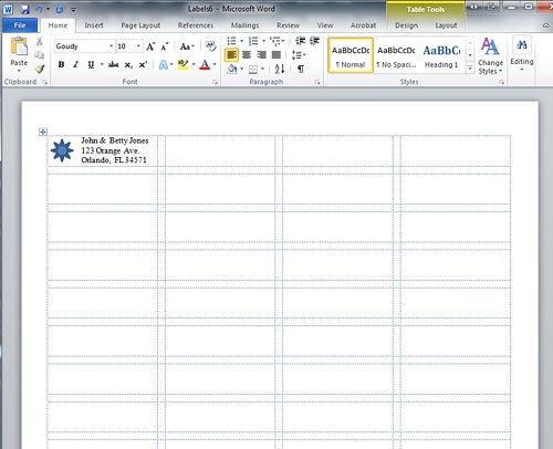 Microsoft Word Label Template Microsoft Word Label Templates