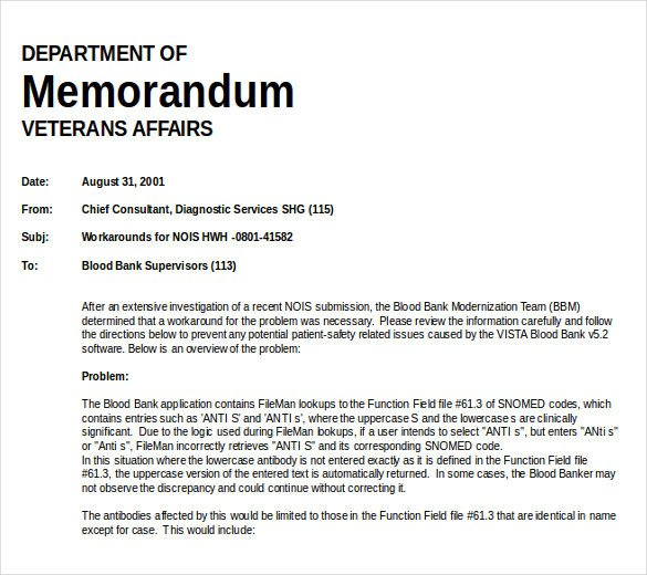 Microsoft Word Memo Templates Free Memo Template – 13 Free Word Excel Pdf Documents