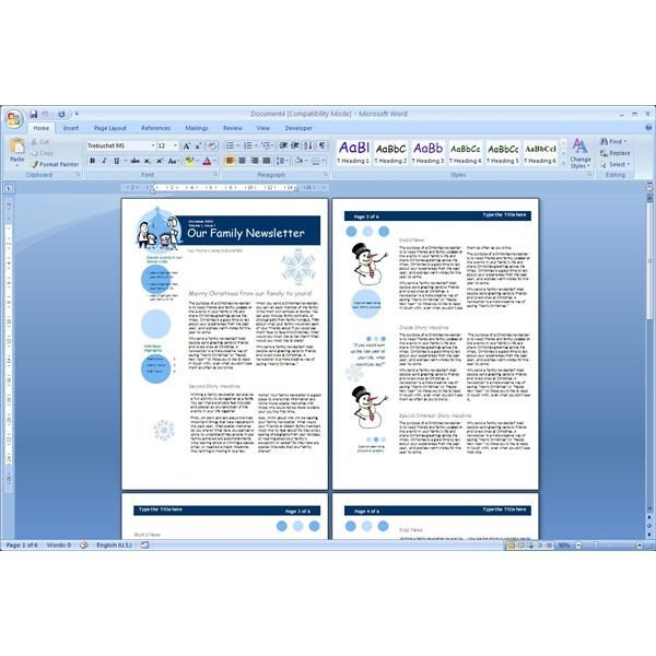 Microsoft Word Newsletter Templates Free Download the top Free Microsoft Word Templates Newsletters