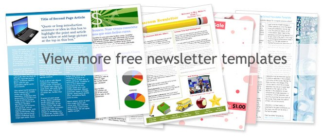 Microsoft Word Newsletter Templates Free Free Church Newsletter Templates Worddraw