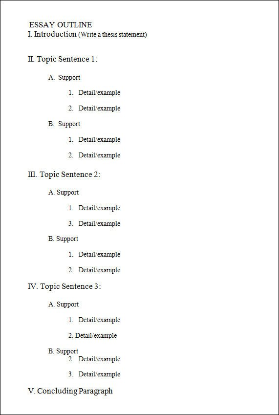 Microsoft Word Outline Template 18 Useful Outline Templates Pdf Word Apple Pages