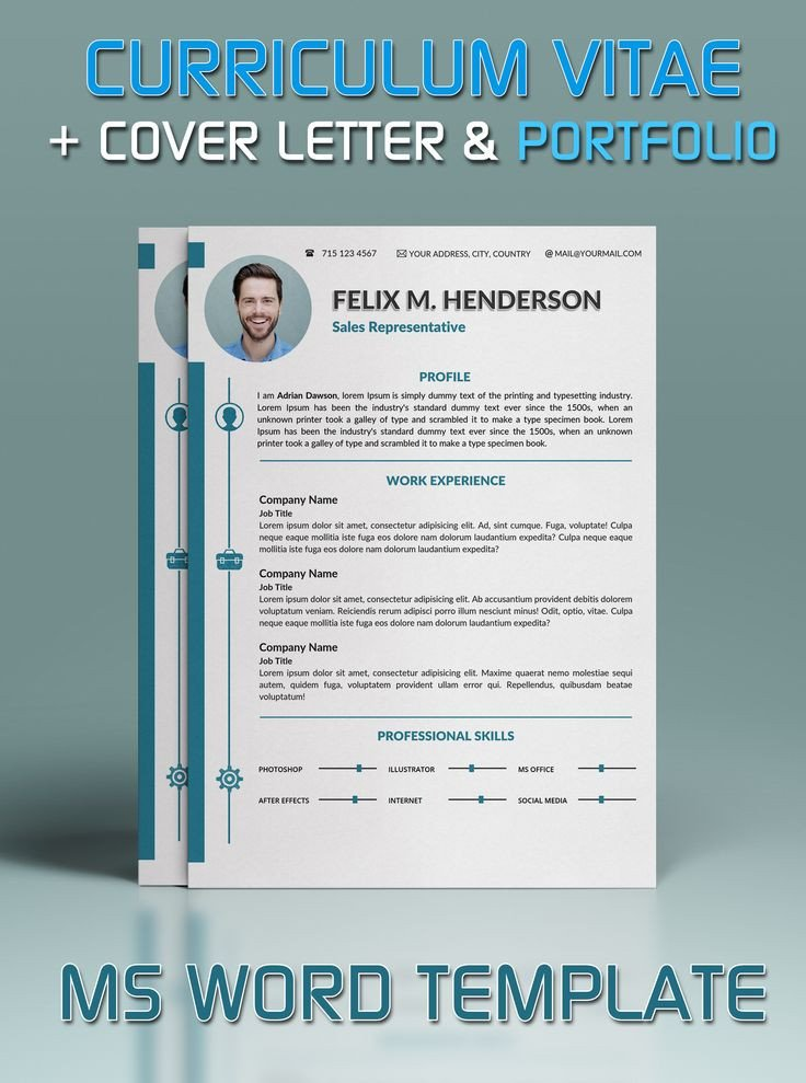Microsoft Word Portfolio Template 17 Best Images About Resume Templates On Pinterest