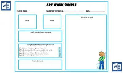 Microsoft Word Portfolio Template Art Work Sample Portfolio Template now Available In Ms