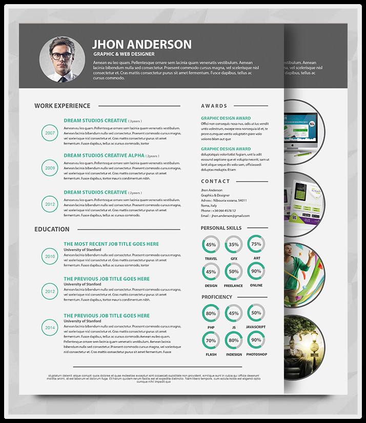 Microsoft Word Portfolio Template Best Professional Resume Templates Psd Ai Word Free