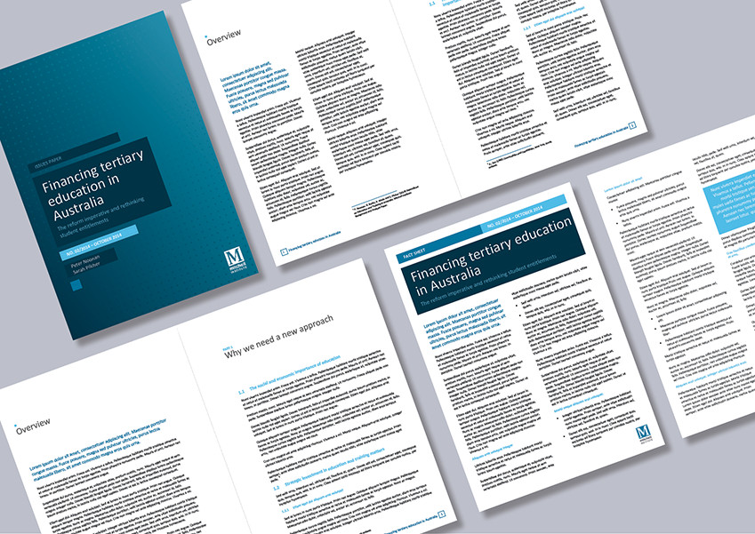 Microsoft Word Portfolio Template Research Institute Report and Newsletter Word Templates