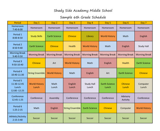 Middle School Schedule Template Quotes About Block Scheduling 26 Quotes