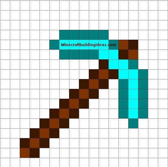 Minecraft Easy Pixel Art 25 Best Ideas About Minecraft Pixel Art On Pinterest