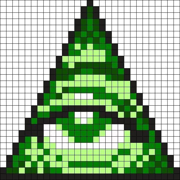 30 Minecraft Easy Pixel Art Simple Template Design