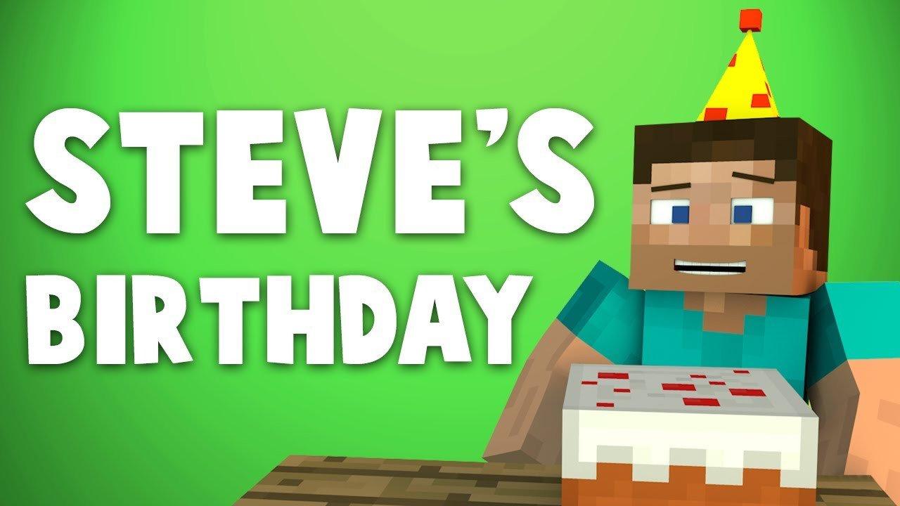 Minecraft Happy Birthday Images Big Birthday Surprise [minecraft Animation]