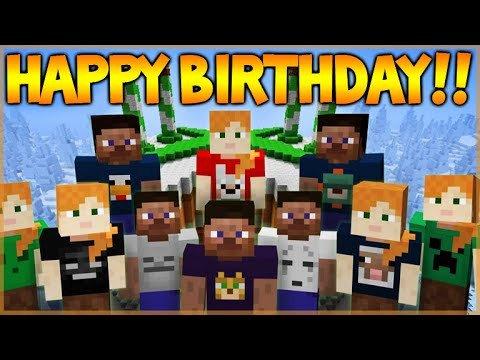 Minecraft Happy Birthday Images Happy 4th Birthday Minecraft Xbox 360 Edition New