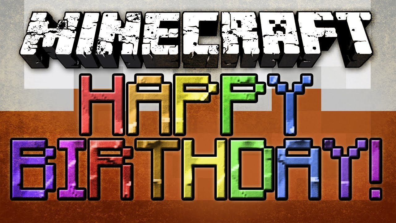 Minecraft Happy Birthday Images Happy Birthday Minecraft