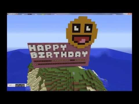 Minecraft Happy Birthday Images Happy Birthday Minecraft Style