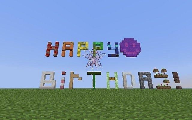 Minecraft Happy Birthday Images Minecraft Happy Birthday Party Ideas