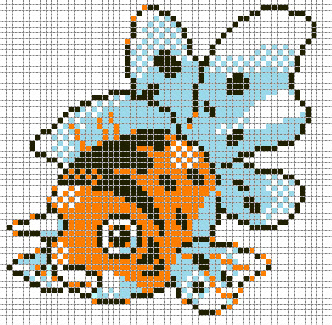 Minecraft Pokemon Pixel Art Grid Sandylandya Outlook Seaking by Hama Girl