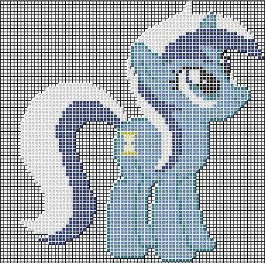 Mlp Pixel Art Template Colgate Minuette Pixel Art Design for Mc by Xxchippy13xx