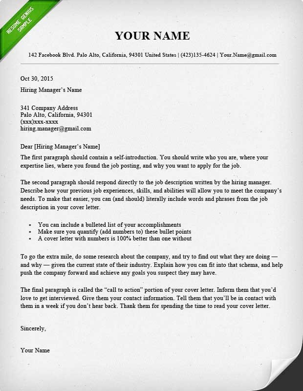 40 Battle Tested Cover Letter Templates for MS Word