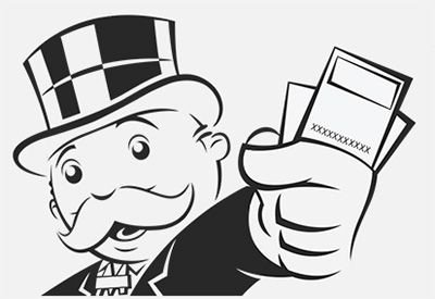 Monopoly Money Black and White the Gallery for Mr Monopoly Man Holding Money