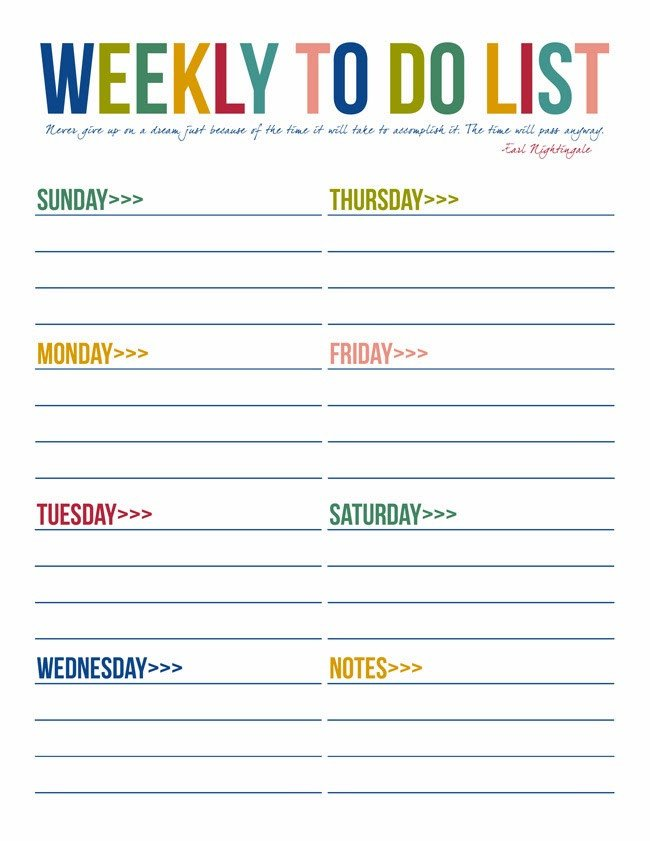 Monthly to Do List Template 40 Printable to Do List Templates