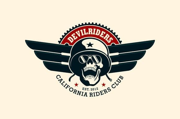 Motorcycle Club Patch Template Photoshop Motorcycle Club Logo Temp Creativework247