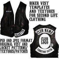 Motorcycle Patch Template Rocker Patch Template Free Download Printable