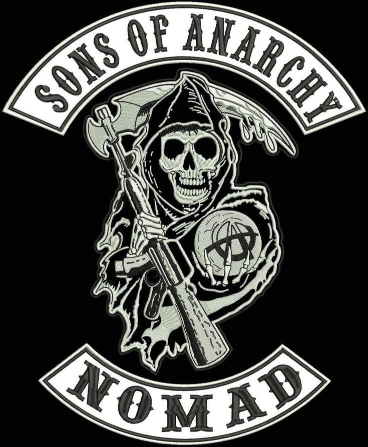 Motorcycle Patch Template sons Of Anarchy Logos