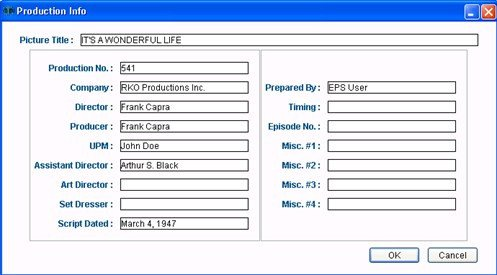 Movie Magic Scheduling Template Sargent Disc Get Started with Movie Magic Scheduling