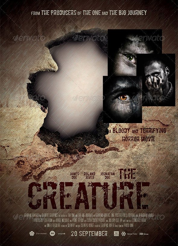 Movie Poster Template Psd 17 Great Movies Poster Psds – Desiznworld