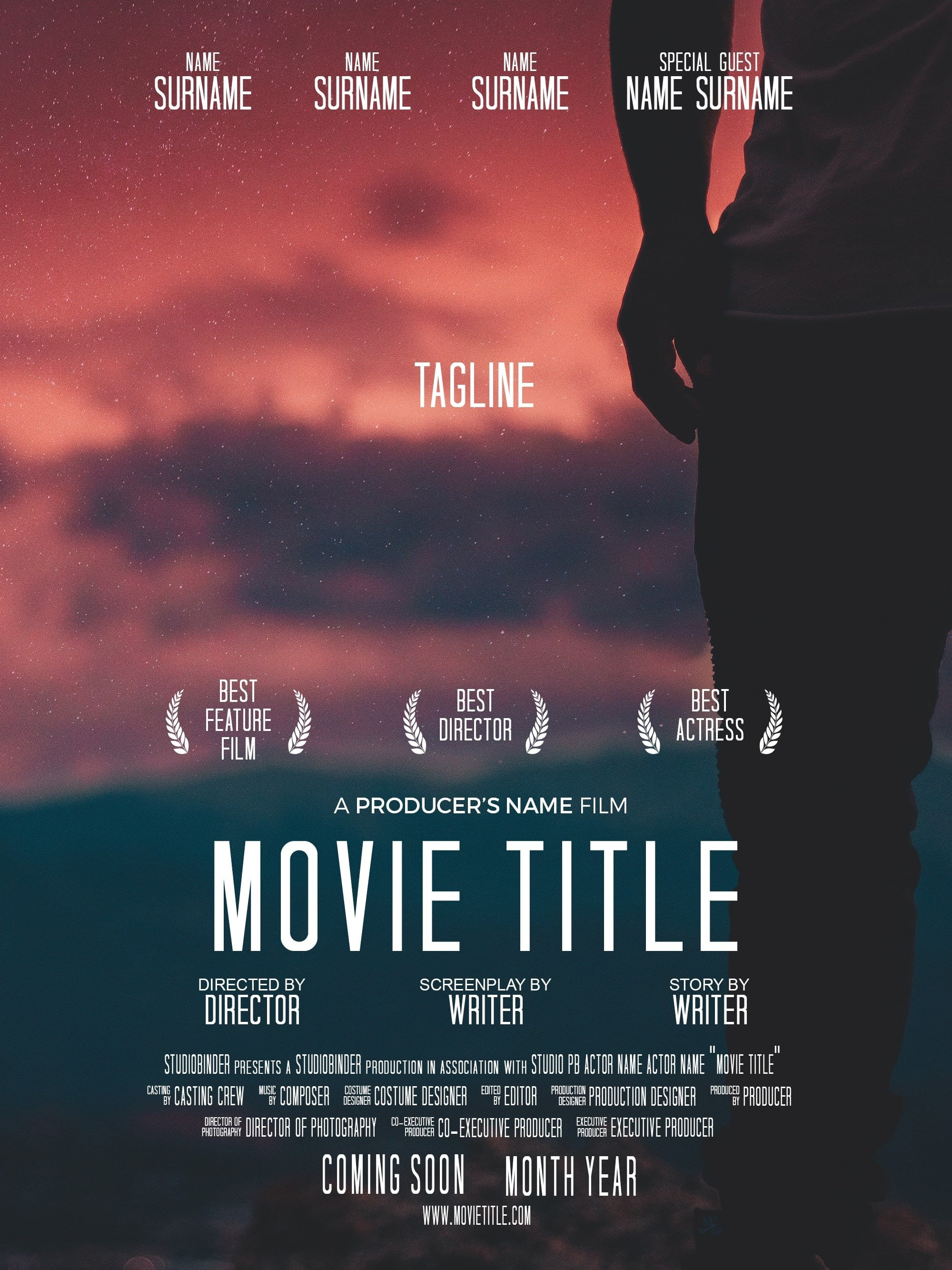 Movie Poster Template Psd Download Your Free Movie Poster Template for Shop
