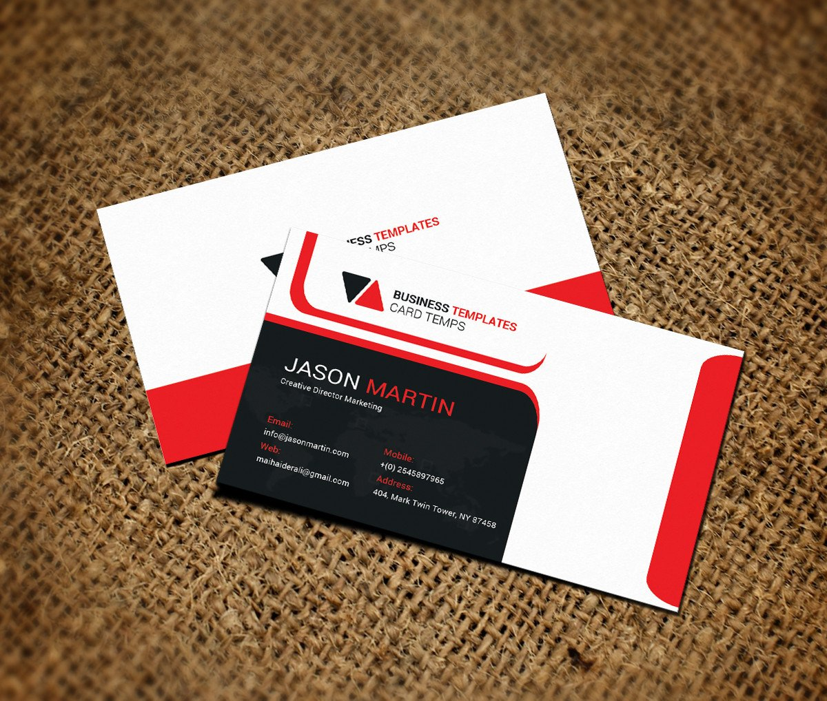 Ms Office Business Card Templates Fice Business Card Template Business Card Templates On