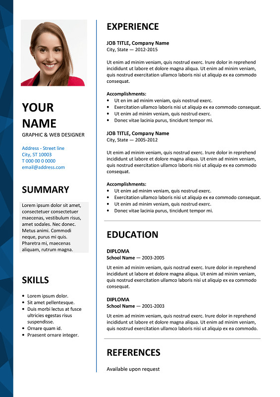 Ms Word Resume Template Download Dalston Newsletter Resume Template