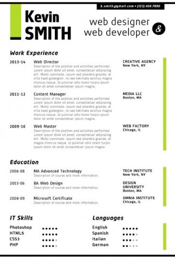 Ms Word Resume Template Download Trendy Resume Templates for Word Fice
