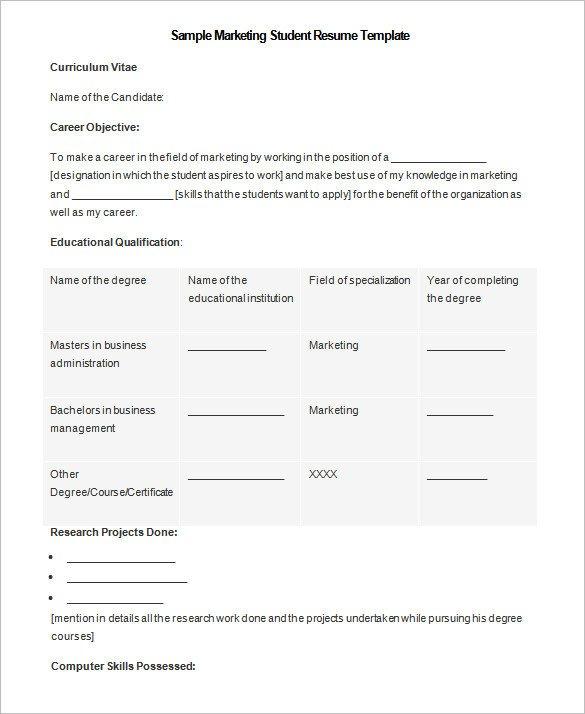 Ms Word Templates Resume 34 Microsoft Resume Templates Doc Pdf