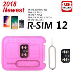 Nano Sim Template 8 5x 11 Lot Rsim 12 2018 R Sim Nano Unlock Card Fits iPhone X 8 7