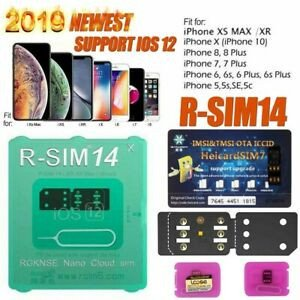 Nano Sim Template 8 5x 11 Rsim 14 12 2019 R Sim Nano Unlock Card for iPhone X 8 7 6