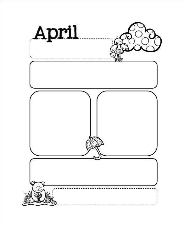 Newsletter Templates for Preschool 13 Printable Preschool Newsletter Templates Free Word
