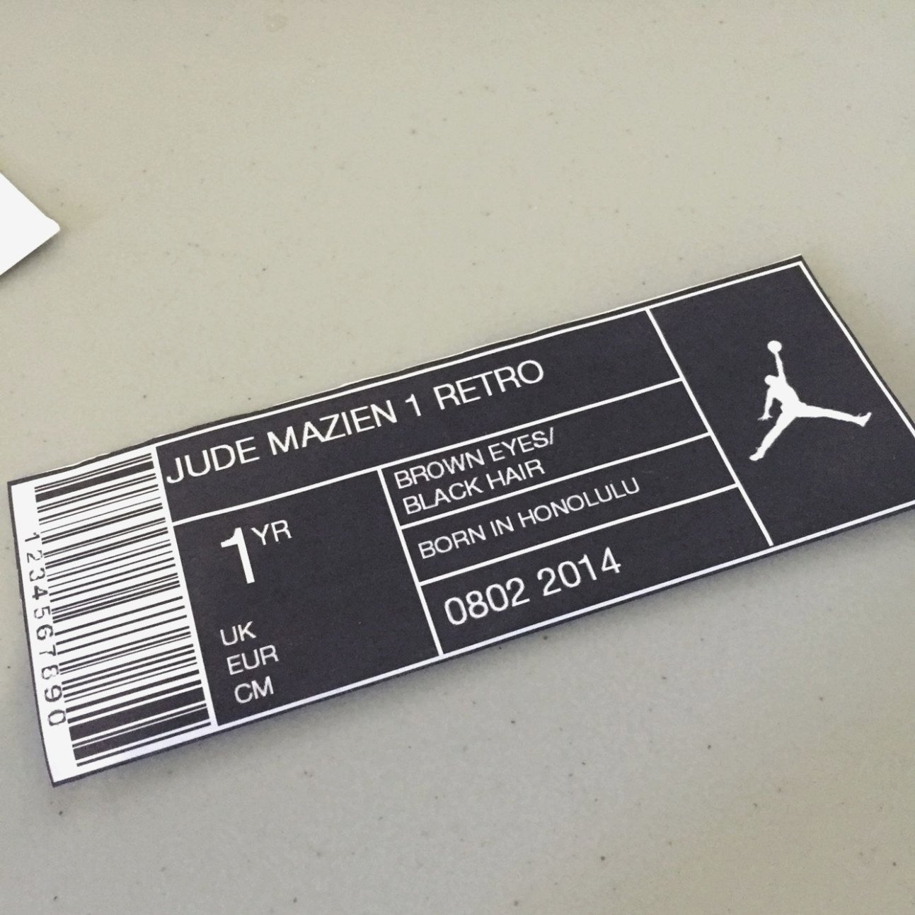 Nike Box Label Template the Ultimate Revelation