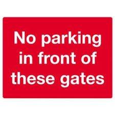 No Parking Signs Template Dibond No Parking Sign Template 2 Banner Man
